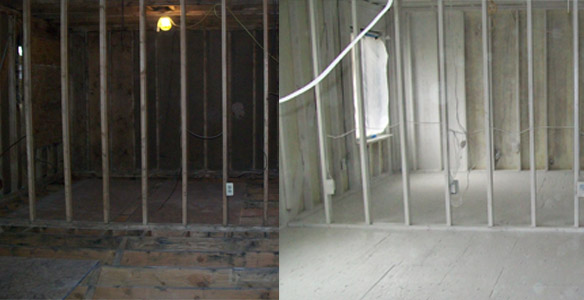 Soda Blasting Before & After