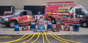 Water Damage Equipment - Mold Remediation