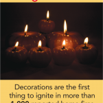 did you know decorations cause 1,000 home fires each years