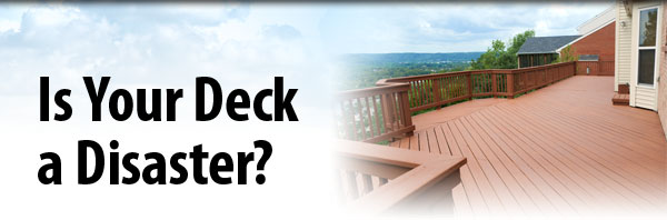 deck home disaster